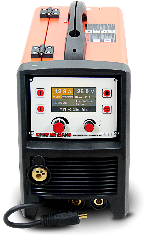 IDEAL™ SET MIG//MAG 3in1 LED Inverter Welder 200A Synergy Welding machine TIG ALU